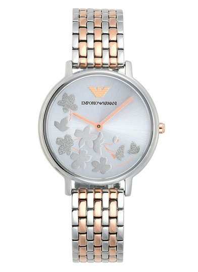 Preload https://img-static.tradesy.com/item/25129210/emporio-armani-silver-and-rose-gold-tone-sunray-31mm-dial-watch-0-0-540-540.jpg
