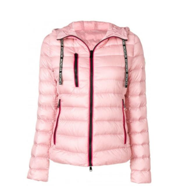 Moncler Light Pink New Seoul Quilted Down Puffer Jacket ...