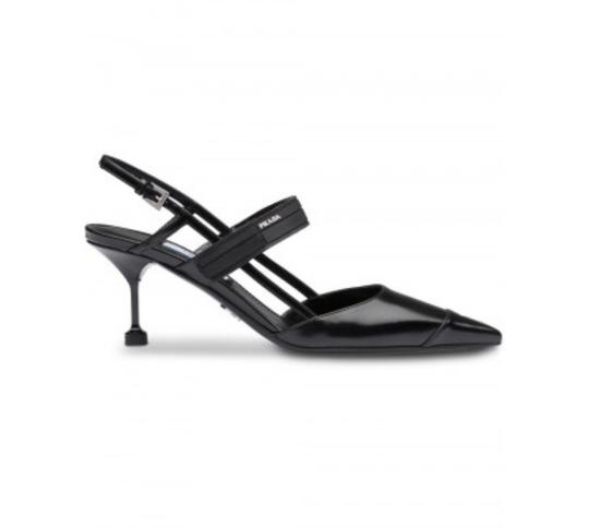 Preload https://img-static.tradesy.com/item/25129391/prada-black-two-tone-leather-slingbacks-55-sandals-size-eu-355-approx-us-55-regular-m-b-0-0-540-540.jpg
