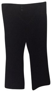 Banana Republic Boot Cut Pants black velvet