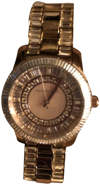 Item - Rose Gold Swaroki Crystal Watch