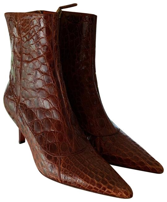 Item - Brown Ankle Boots/Booties Size US 7.5 Regular (M, B)