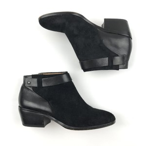 Madewell Suede Leather Ankle Stylish Black Boots