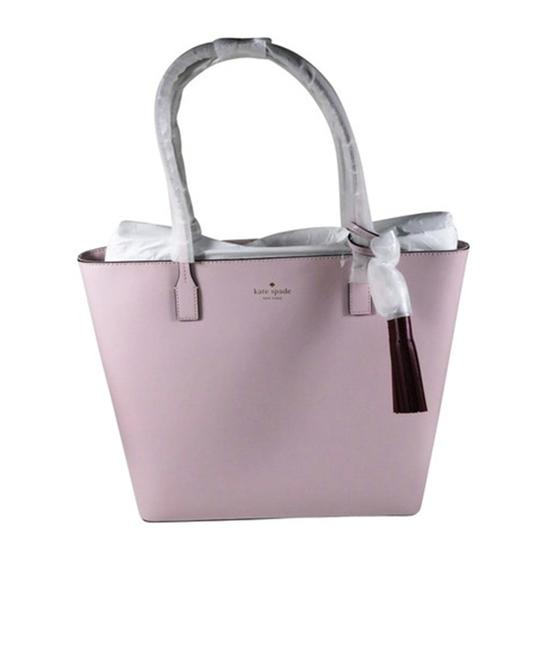 Item - New Wright Place Karla Plum Dawn Leather Tote