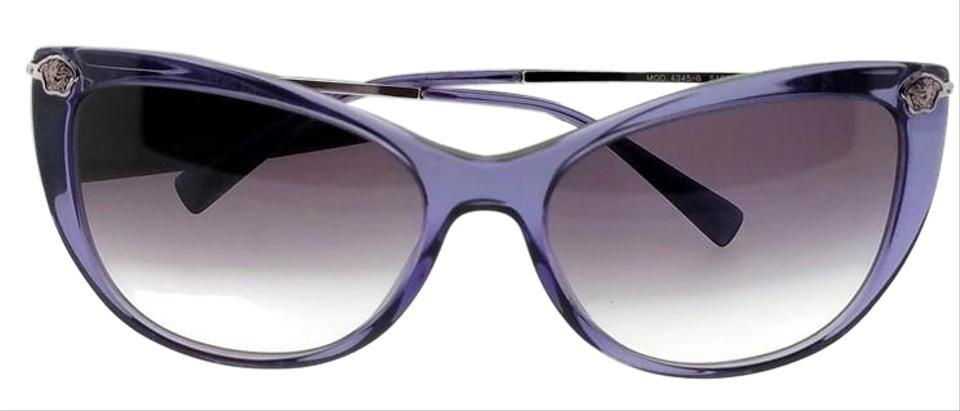 7a04a975e0e6e Versace Ve4345b-516036-57 Cat Eye Women s Purple Frame Purple Lens  Sunglasses. Item    25131309
