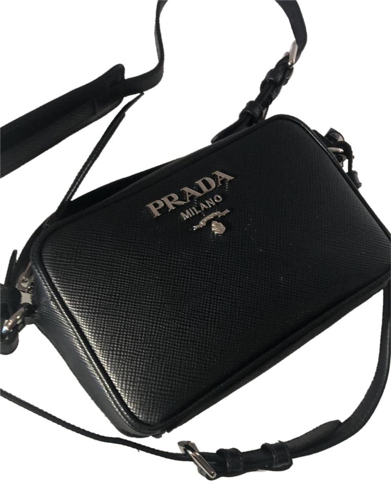 d5f774bc5fcf Prada Saffiano Cuir Cross Body Bag - Tradesy