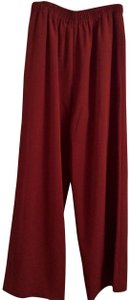 Jerry Giardelli Wide Leg Pants Red