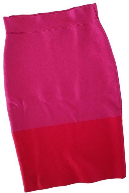 Item - Hot Pink Bandage Skirt Size 2 (XS, 26)