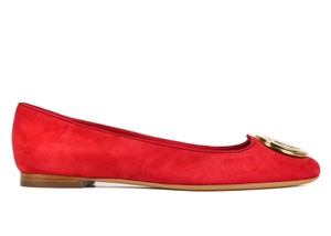 103befdb1 Red Salvatore Ferragamo Flats 7.5 Up to 90% off at Tradesy