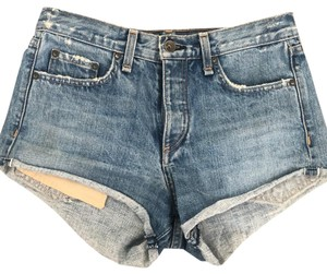 Rag & Bone Denim Shorts-Distressed