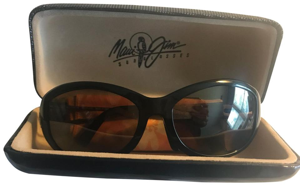 3055dd32202 Maui Jim Black Alana Mj 215-16 Sunglasses - Tradesy