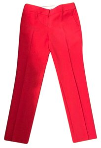 Ann Taylor Straight Pants Coral