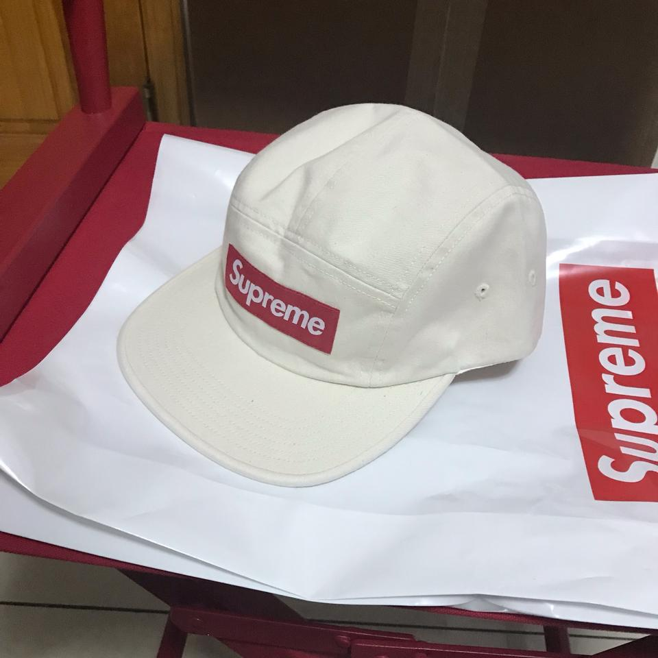 58cd8571a Supreme Natural Washed Chino Twill Camp Cap Hat
