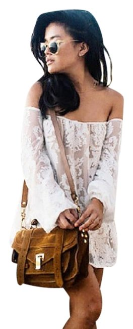 Preload https://img-static.tradesy.com/item/25132871/for-love-and-lemons-creme-precioso-off-shoulder-embroidered-short-casual-dress-size-8-m-0-1-650-650.jpg