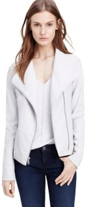 Vince grey Leather Jacket