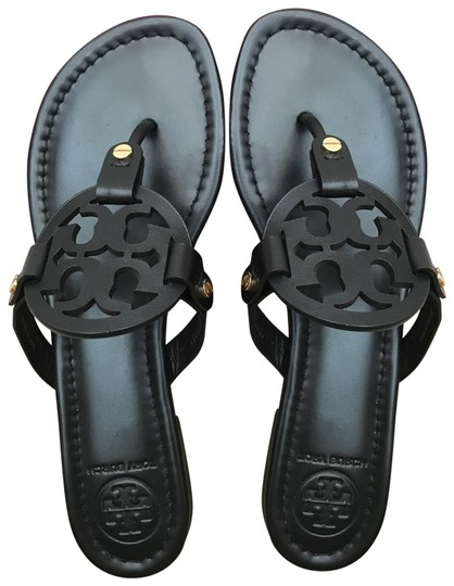 0f33e828acd93 Tory Burch Black 9.5m Miller Flat Thong Sandals. Size  US 9.5 Regular ...
