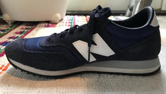 New Balance Sneakers Trainers Streetwear Lifestyle Navy Blue Athletic Image 1