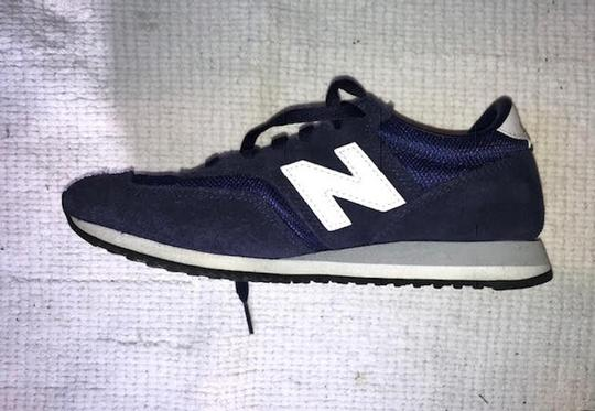 New Balance Sneakers Trainers Streetwear Lifestyle Navy Blue Athletic Image 3