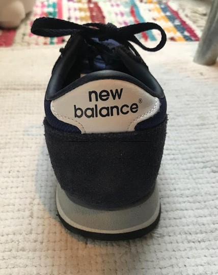 New Balance Sneakers Trainers Streetwear Lifestyle Navy Blue Athletic Image 5