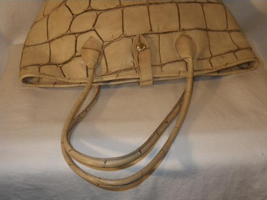 Dooney & Bourke And Crocodile Leather Tote in Yellow Image 8