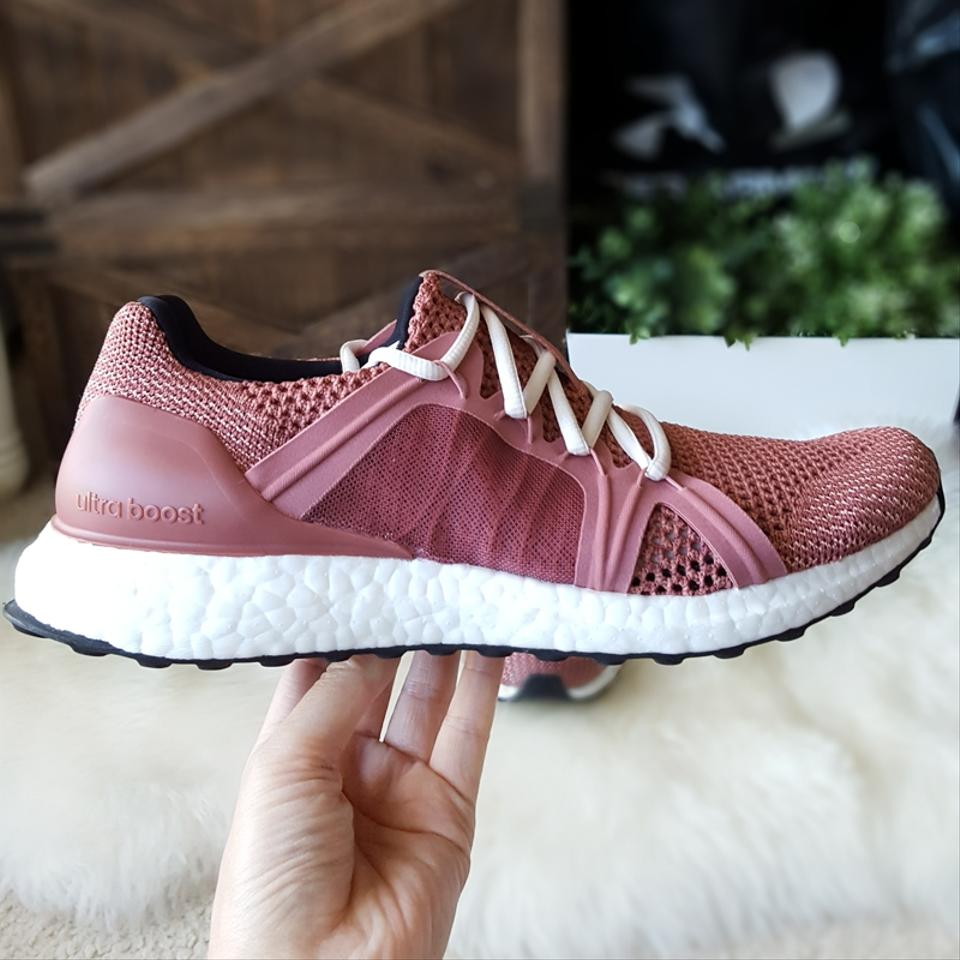 99718a8e3 adidas By Stella McCartney Raw Pink Coffee Rose Core Black Athletic Image  10. 1234567891011