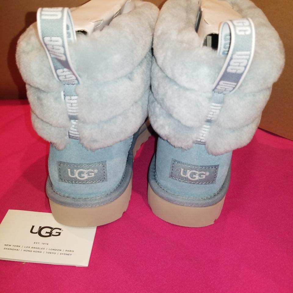 f24d3a682b9 UGG Australia Succulent W Fluff Mini Quilted Water Resistant Boots/Booties  Size US 9 Regular (M, B) 33% off retail
