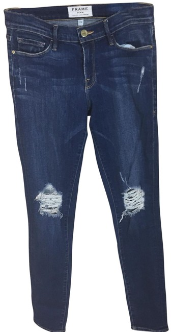Item - Walgrove Distressed Le Jeanne De Skinny Jeans Size 6 (S, 28)