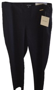 Ellen Tracy Skinny Pants navy