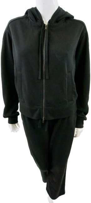 Item - Black Athletic Set Activewear Outerwear Size 8 (M)