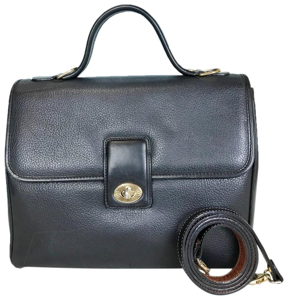 cce481368742 Gucci Vintage Turnlock Sale Navy Blue Leather Satchel - Tradesy