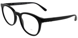 Burberry BE2250-3001-51 Oval Men's Black Frame Clear Lens Genuine Eyeglasses