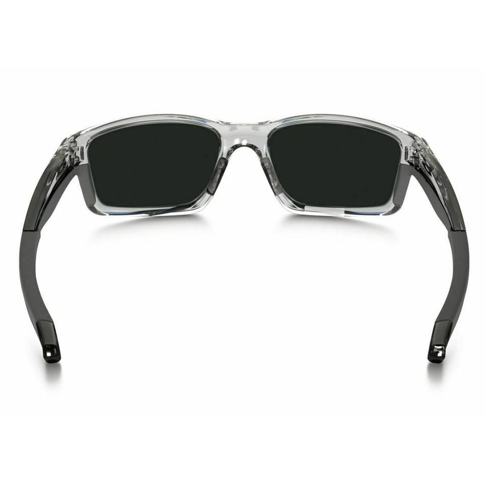 627d844ee1e83 Oakley Chainlink Polished Clear Frame   Violet Iridium Lens Oo9247 06  Sports Style Unisex Sunglasses - Tradesy