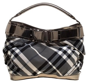 Burberry Nylon Leather Shoulder Bag