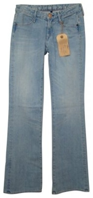 Preload https://img-static.tradesy.com/item/25136/earnest-sewn-blue-medium-wash-ali-181-stonewash-of-the-stars-boot-cut-jeans-size-25-2-xs-0-0-650-650.jpg