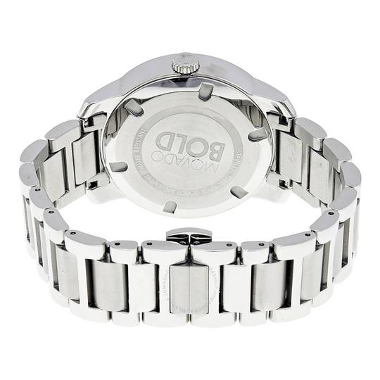 Movado Bold Stainless Steel Roman Numeral Dial 3600196 Watch Image 4
