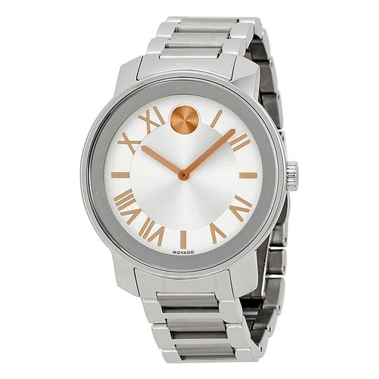 Movado Bold Stainless Steel Roman Numeral Dial 3600196 Watch Image 8
