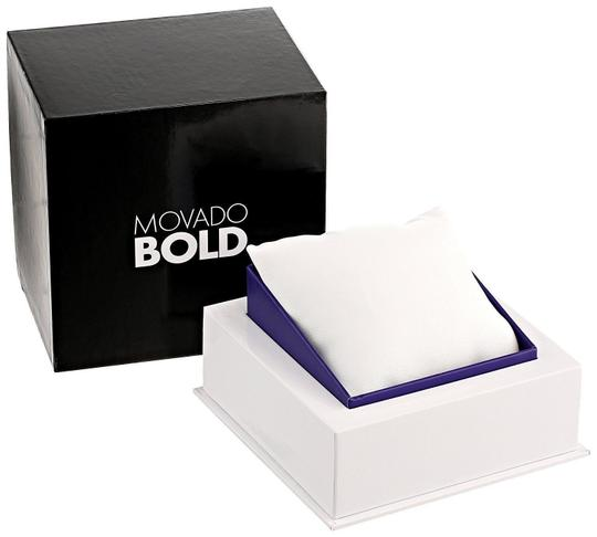 Movado Bold Stainless Steel Roman Numeral Dial 3600196 Watch Image 9