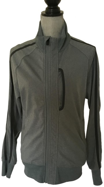 Item - Green / Gray Athletic Activewear Outerwear Size 6 (S)