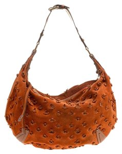 1ae727cfb334 Louis Vuitton Suede Leather Monogram Limited Edition Hobo Bag