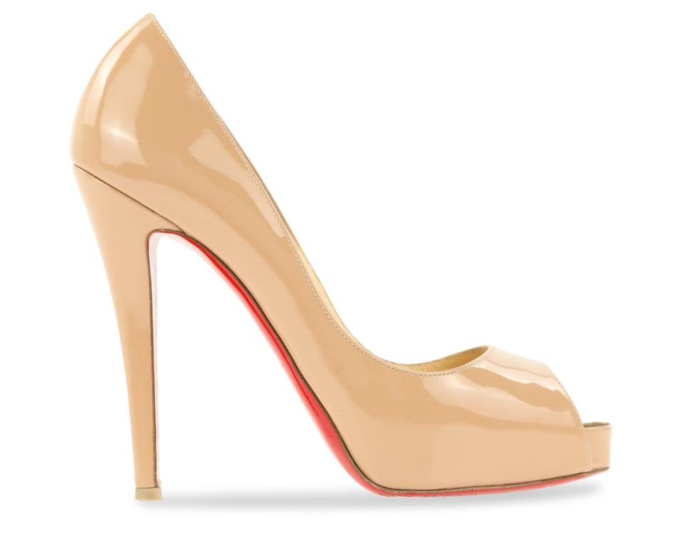 pretty nice be09f 801ce Christian Louboutin Nude Very Prive 120 Patent Calfskin Leather Pumps Size  EU 38 (Approx. US 8) Regular (M, B) 52% off retail