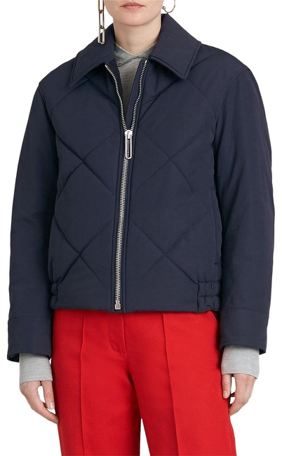 Item - Blue New Knowstone Women's Quilted Jacket Navy Us4 Coat Size 4 (S)