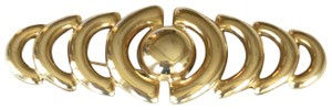 Givenchy Givenchy Signed Modernist Gold-tone Brooch