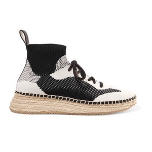 Alexander Wang Black and White Athletic