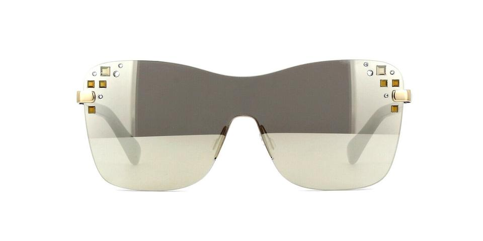 b48d3115a ... Sunglasses Jimmy Choo MASK 138 Gray/Silver Mirror Lens Image 3. 1234