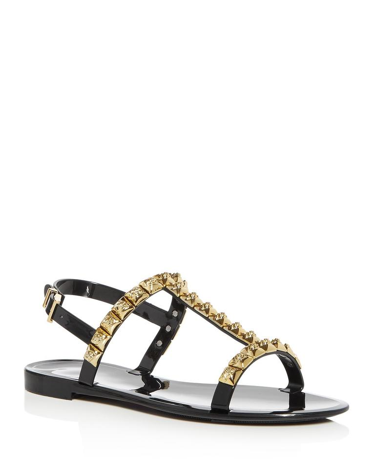aac01cad9f87 Stuart Weitzman Black In Box Jelrose Studded Sandals Size US 8 ...