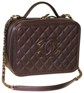 1b6cc3a70f54 Vanity Case Filigree Quilted Caviar Large Purple Leather Cross Body Bag.  $3,725.00 $5,200.00. Chanel Cross Body Bag - recommended img. Chanel Cross  Body Bag