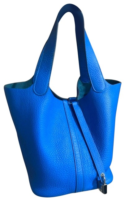 Item - Picotin 22 Cm Blue Hobo Bag