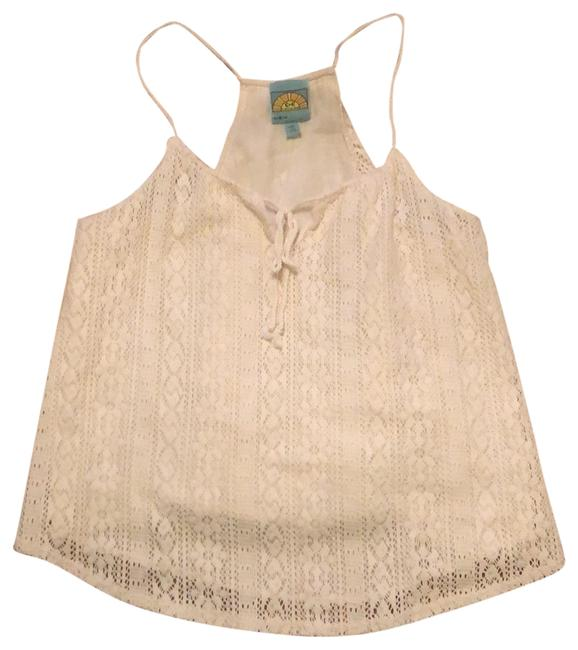 Item - Ivory Lace Layer Tank Top/Cami Size 12 (L)
