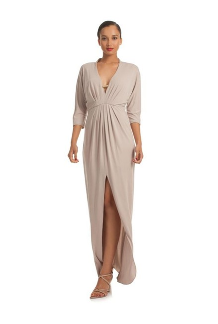 Item - Beige Salsa Formal Long Casual Maxi Dress Size 6 (S)