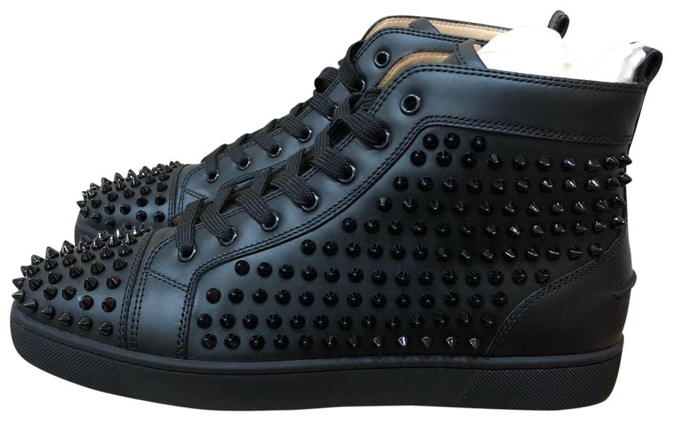 the best attitude 1af5b 6a805 Christian Louboutin Louis Flat Calf/Spikes Sneakers Size EU 43 (Approx. US  13) Regular (M, B) 28% off retail